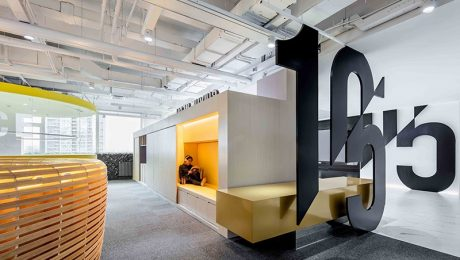 Office Environmental Design of Shiyue Media in Beijing