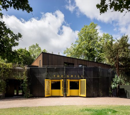 Open Air Theatre Studios in Regents Park