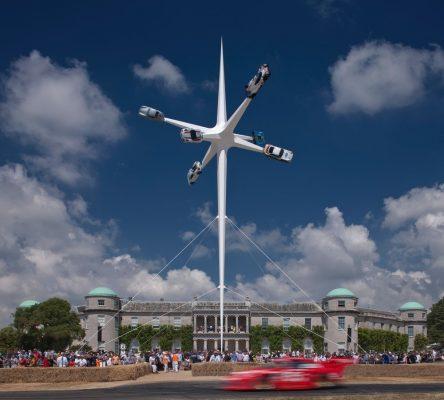 Porsche Sculpture Goodwood Festival of Speed 2018