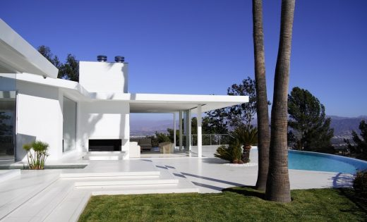 Residence Overlooking Mulholland Drive Los Angeles