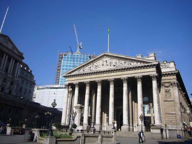 Royal Exchange building City of London