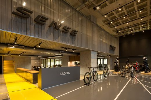 Sense Bike Headquarters in Belo Horizonte