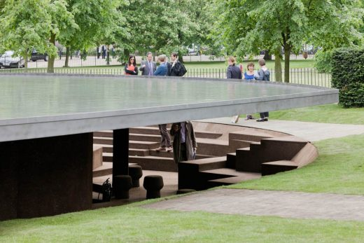 Serpentine Gallery Pavilion 2012 design by Herzog and de Meuron with Ai Weiwei