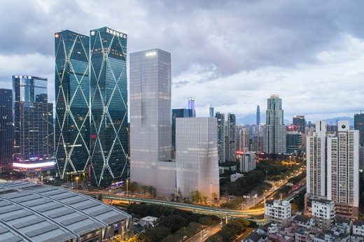 Shenzhen Energy Company Office skyscraper building by BIG