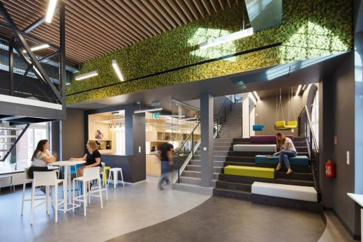 The Software House offices Gliwice interior