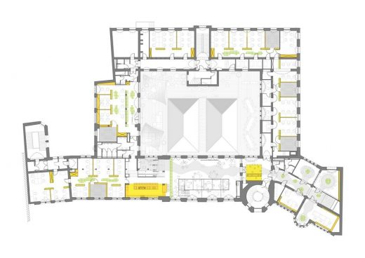 The Software House offices Gliwice plan layout