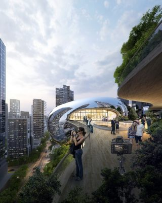 Southbank by Beulah Melbourne tower building design