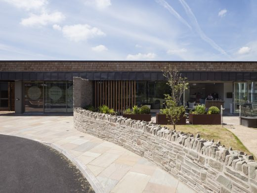 St Davids Hospice In-patients Unit building in Wales