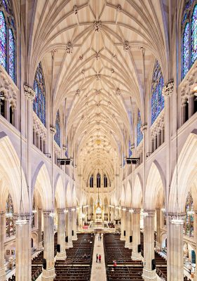 St. Patrick's Cathedral Building Restoration New York City interior
