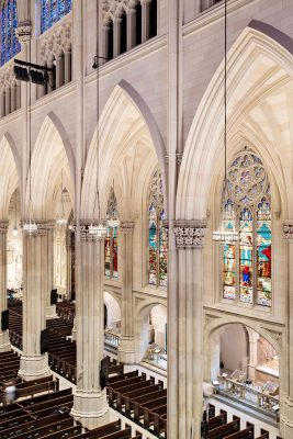 St. Patrick's Cathedral Building Restoration New York interior