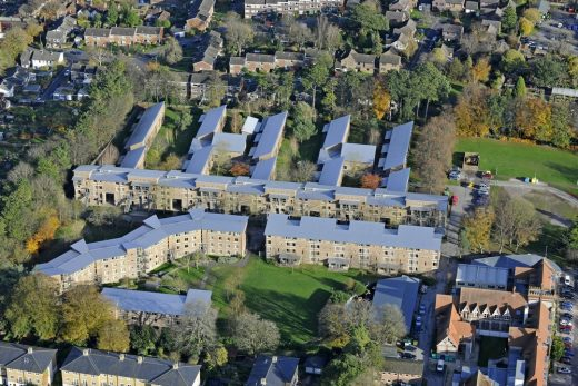 University of Winchester West Downs campus aerial photograph