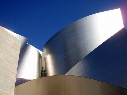 Walt Disney Concert Hall Los Angeles building