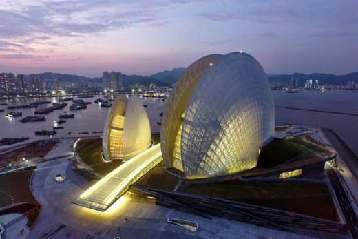 Zhuhai Opera House Building