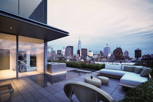 152 Elizabeth Street condominium Manhattan by Tadao Ando architect