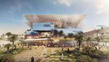 2020 Expo Dubai German Pavilion building design by LAVA
