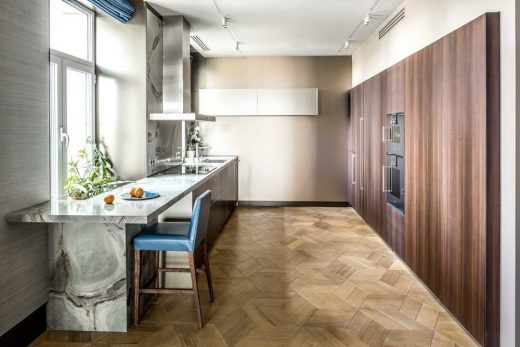 Apartment in Kyiv Downtown by Dreamdesign