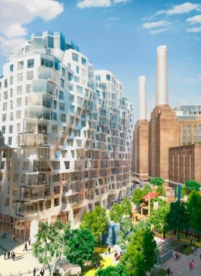 Battersea Phase 3A by Frank Gehry architect in London
