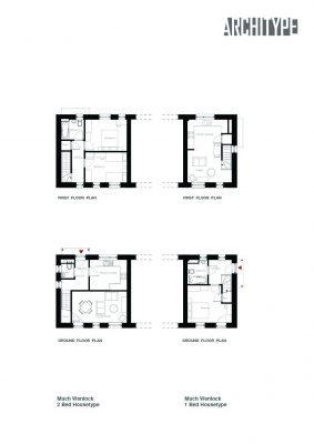 Callaughtons Ash Shropshire house plans