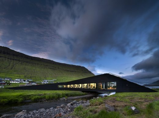 Eysturkommuna Town Hall on the Faroe Islands