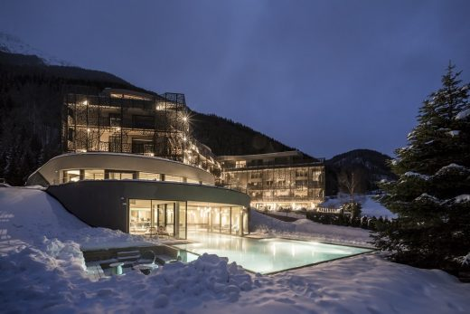 Hotel Silena Vals South Tyrol Wellness Retreat design by noa*