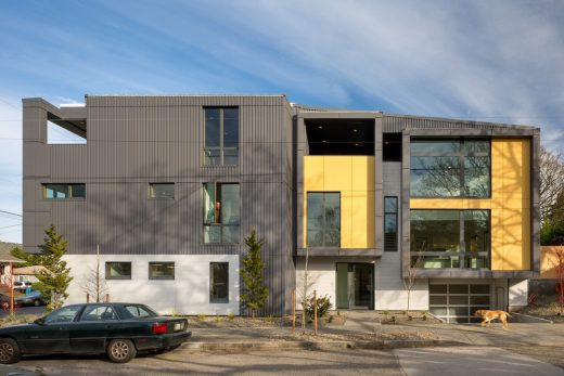 Lightbox 23 net zero House in Portland