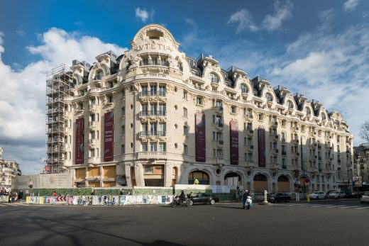 Hotel Lutetia Paris building