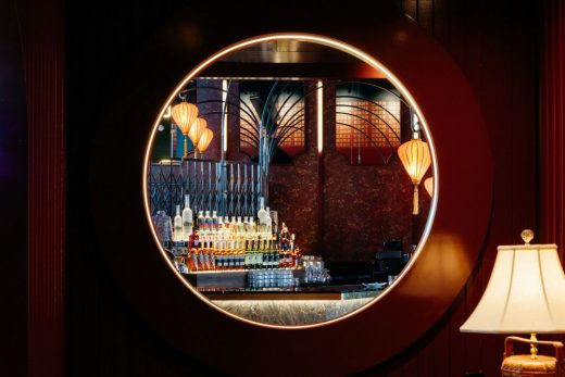 Miss Wong Chinese Restaurant Montreal Architecture News