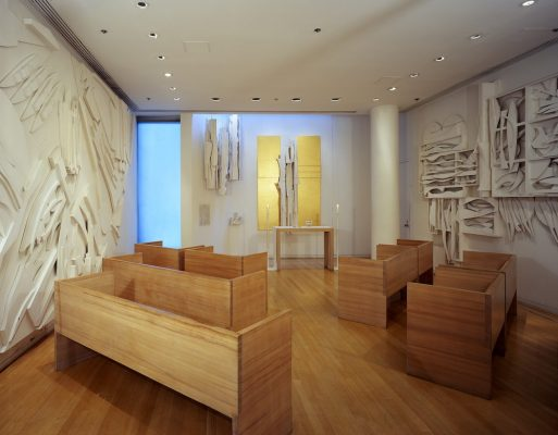 Interior of Nevelson Chapel at Saint Peter's Church, New York City