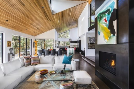 Rangers Ridge House in Portland design by Giulietti / Schouten Architects