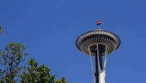 Seattle Space Needle Building