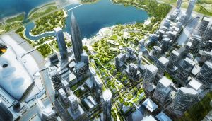 Shenzhen Bay Square Waterfront by MAD Architects