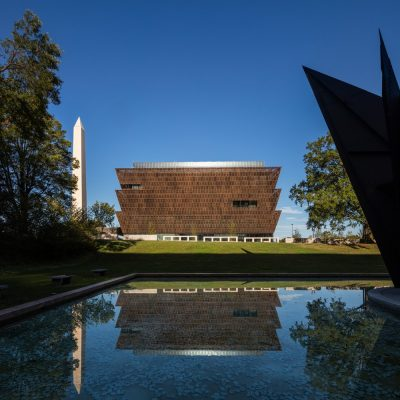 Smithsonian Institution National Museum of African American History and Culture building by David Adjaye