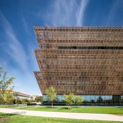 Smithsonian Institution National Museum of African American History and Culture building by David Adjaye architect