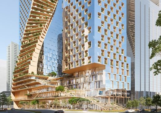 Southbank by Beulah in Melbourne design by UNStudio Architects
