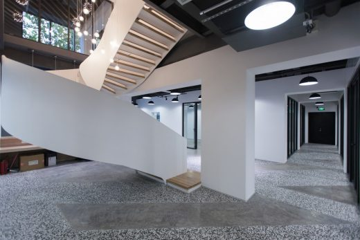 Space Slice Maotai Road Shanghai office interior