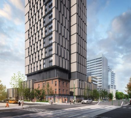 Student Residence at University of Toronto St. George Campus building design