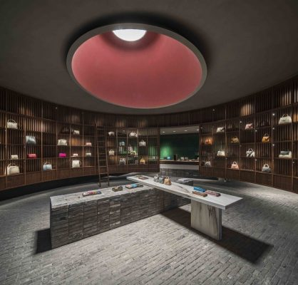 The Library Valextra Flagship Store in Chengdu