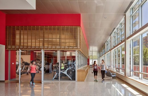 The Winsor School, Lubin O'Donnell Center for Performing Arts and Wellness interior