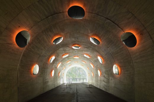 Tunnel of Light 2018 Echigo-Tsumari Triennale by MAD Architects