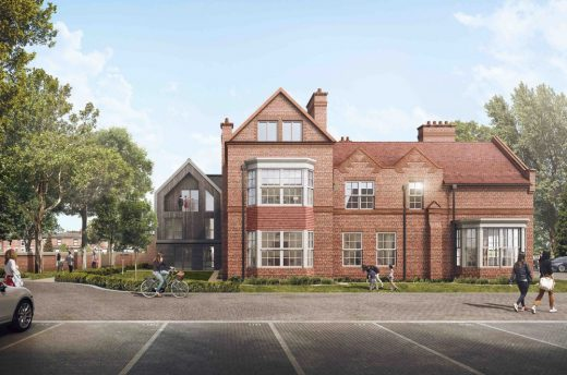 Vicarage Gardens Stockport building design