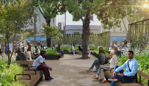 Whitfield Gardens Camden Council West End Project