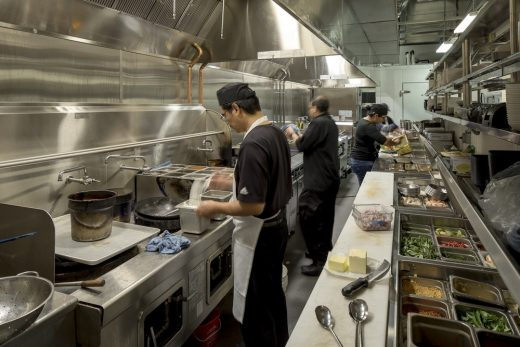 Wild Ginger Bellevue restaurant kitchen