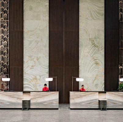 Wuxi Hualuxe Hotel building in Jiangsu