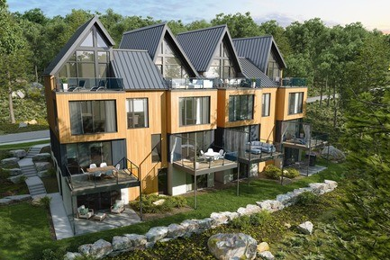 Arborescence in Bromont Quebec - Canadian Architecture News