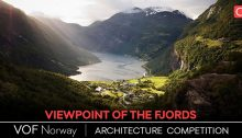Arquideas Viewpoint of the Fjords Norway Competition