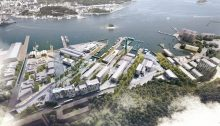 Camp Mare Tongyeong Dockyard Regeneration project design