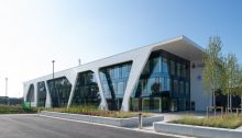 Corian fits the bill to clad the new Lancs Constabulary HQ