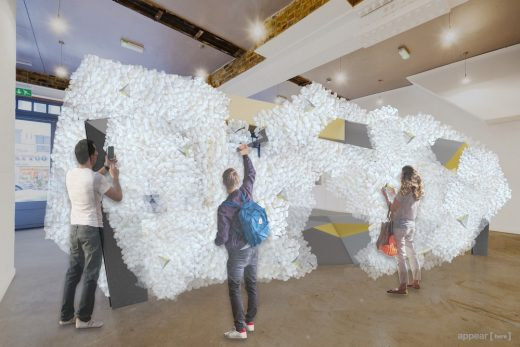 Corian goes into UNKNOWN Territory with Falmouth Unis LDF pop-up
