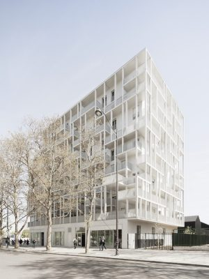 Croisset Social Housing in Paris