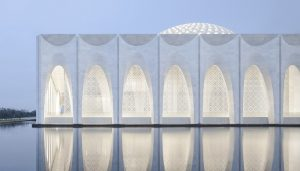 Da Chang Muslim Cultural Center building in China